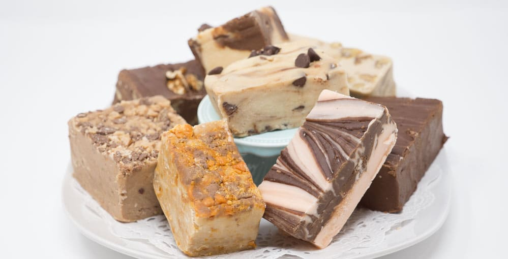 Fudge Plate Picture