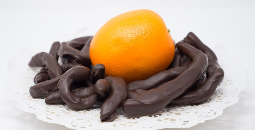 Chocolate Dipped Fruits Image